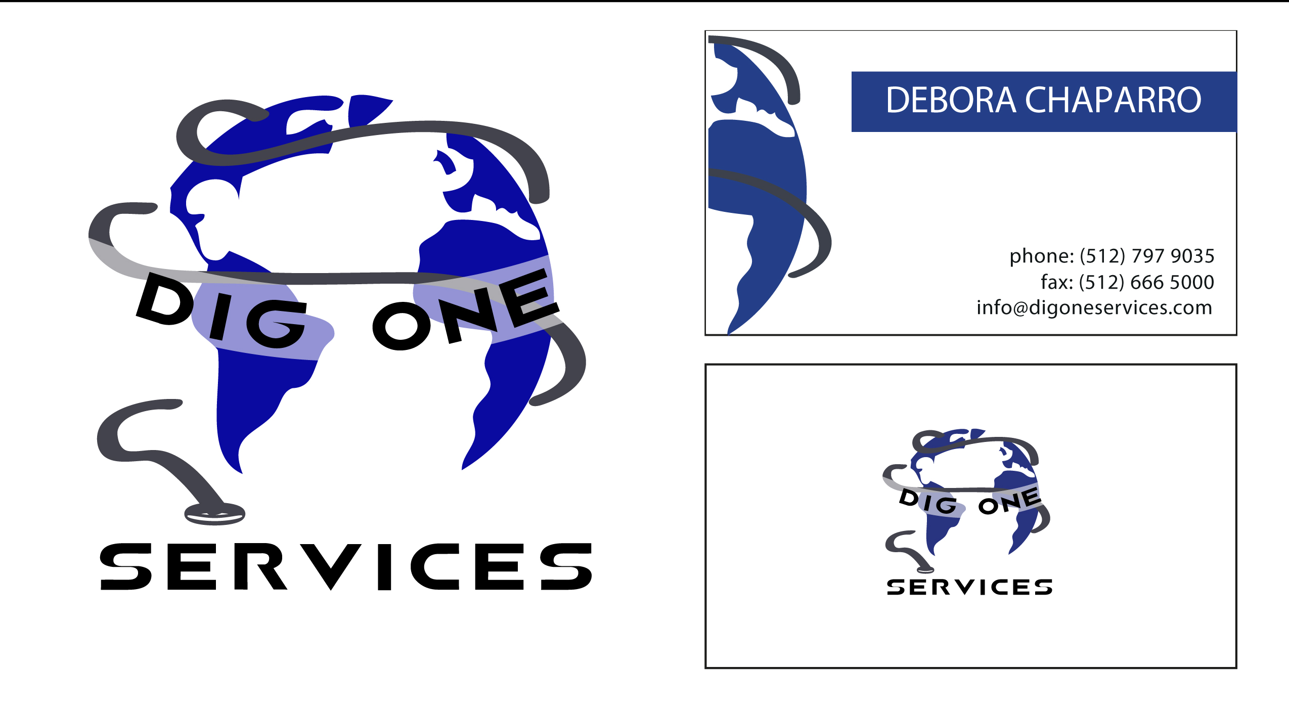 DIG ONE SERVICES LOGO